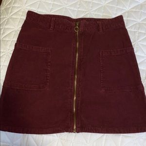 Altar'd State Corduroy Skirt